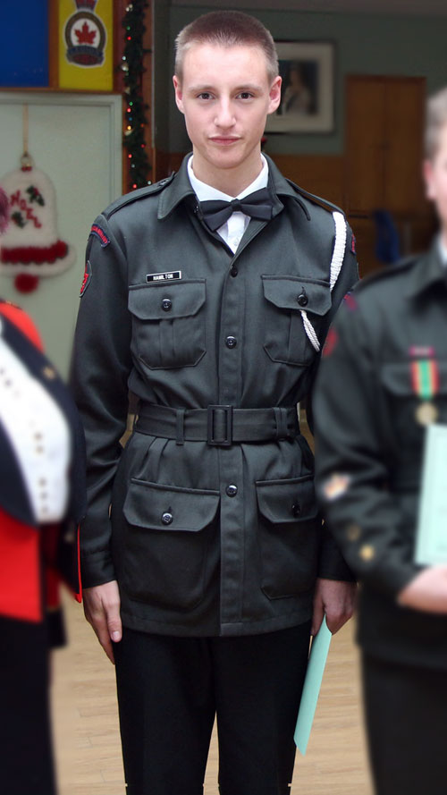 Dress Standards – 2870 Army Cadets